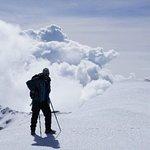 The top of Africa(Uhuru peak)