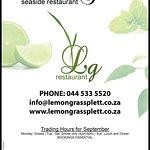 The Lemon Grass Seaside Restaurant Foto