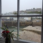 Our view of Porthleven from the Ship Inn
