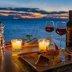 Agioli dinner by the sea