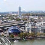 Panoramaaufnahme - Hauptbahnhof/Musical Dome/EASA