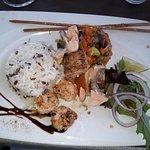 Le plat, saumon