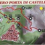 Mappa del versante Nord di Monte San Giuliano ( Erice ) !
