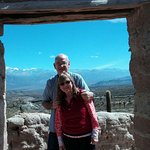 Camino a Cachi, vista del Nevado de Cacho y a unos km del Parque del cardon