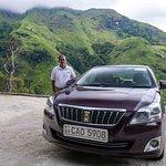 My driver Sunil in Ella