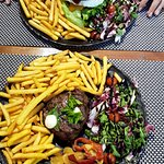 Beefsteak and Bosso burger
