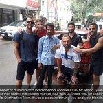 Goalkeeper of austrlia and india chennai city footbaal club