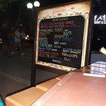 menu placa