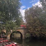You can hire a punt and spend a quiet time on the river