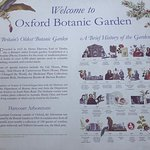 This sign says it all. Beautiful gardens, a wonderful way to spend an afternoon.