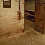 Where the Martyrs were held in this cell for 3 days awaiting trial.