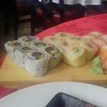 sushis façon california rolls
