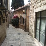 The outside of Shanty Restaurant, Jerusalem