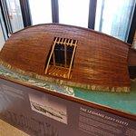 miniature viking vessel replica
