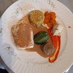 Menu au fil des saisons plat succulent