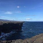 The Volcano Parks beautiful & rugged coastline
