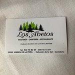 صورة فوتوغرافية لـ Hosteria Los Abetos