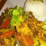 Curry, muy bueno.