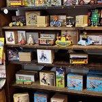 A. Schwab - old merchandise display shelves