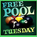 Free pool all day Tuesday