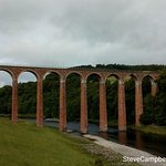 Foto de The Leaderfoot Viaduct, also known as the Drygrange Viaduct