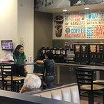 Inside seating,   Coffee Area