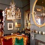 Mademoiselles lounge area