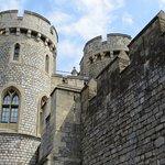 Tourelles du château de Windsor