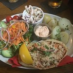 Dressed Crab lunch special