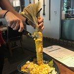 Sweet Corn Appetizer Cut Table side