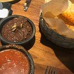 Homemade Salsa & Bean Dip