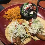 Roll Up Crispy Fish Taco with 2 sides