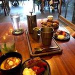 dessert & coffee spread