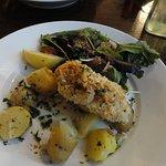Fresh Cod with veg