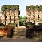 The Royal place of Polonnaruwa