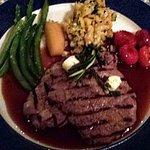 Grilled Antelope, a seasonal dish