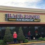 Foto de Back Room Steakhouse