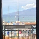 View from the Lahaina Heritage Museum at Bayan Tree Park on Front St.