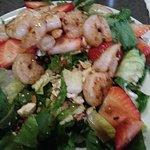 Shrimp and Strawberry Salad