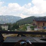 נוף ממרפסת המסעדה