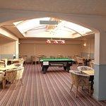 Pool room & drinking area.