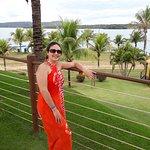 Vista exuberante do lago Corumbá.