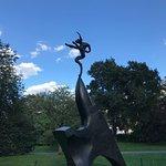 Nijinski hare at the frieze sculpture exhibition