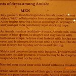 mens Amish dress