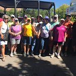 Our RV tour group with Canyon Cain of High Point Hummer & ATV..