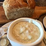 Chowder Bread lunch
