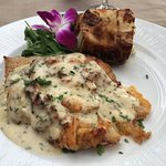 Stuffed grouper