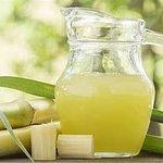 Freshly Squeezed Sugarcane Juice