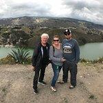 Lake outside of Quito