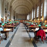Boston Public Library Foto